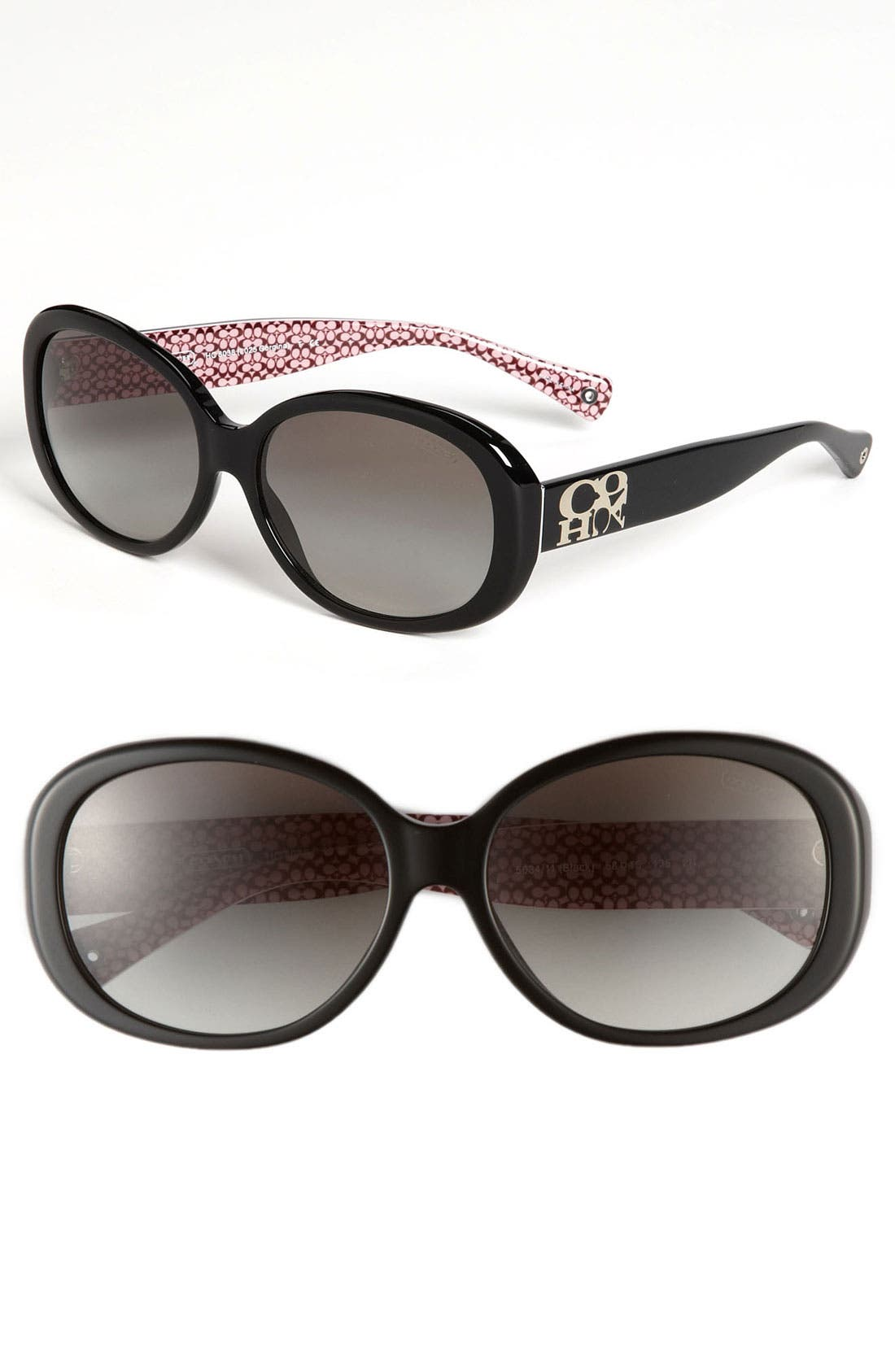 Main Image - COACH Oversized Plastic Sunglasses