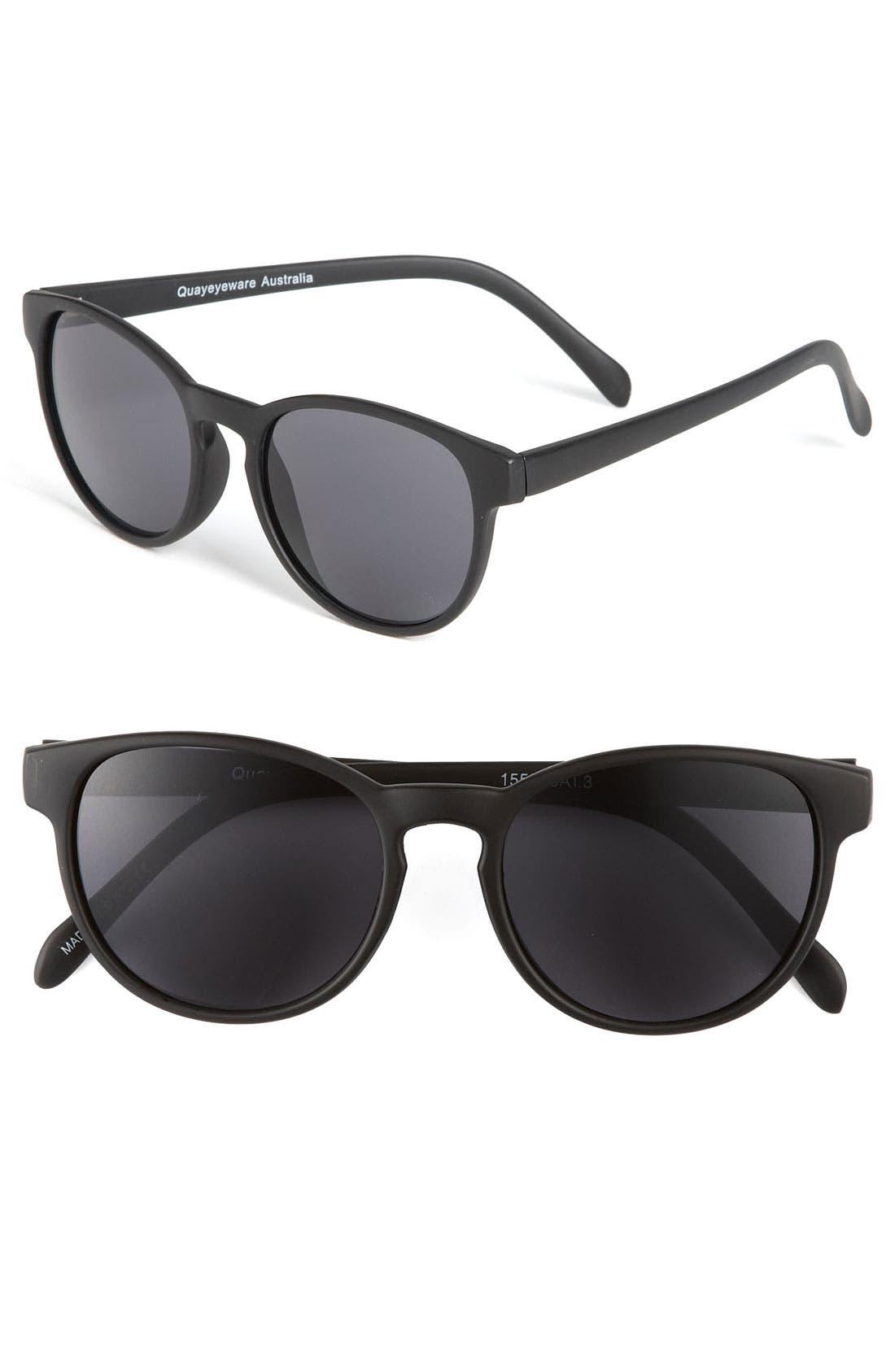 Main Image - Quay Oversized Sunglasses