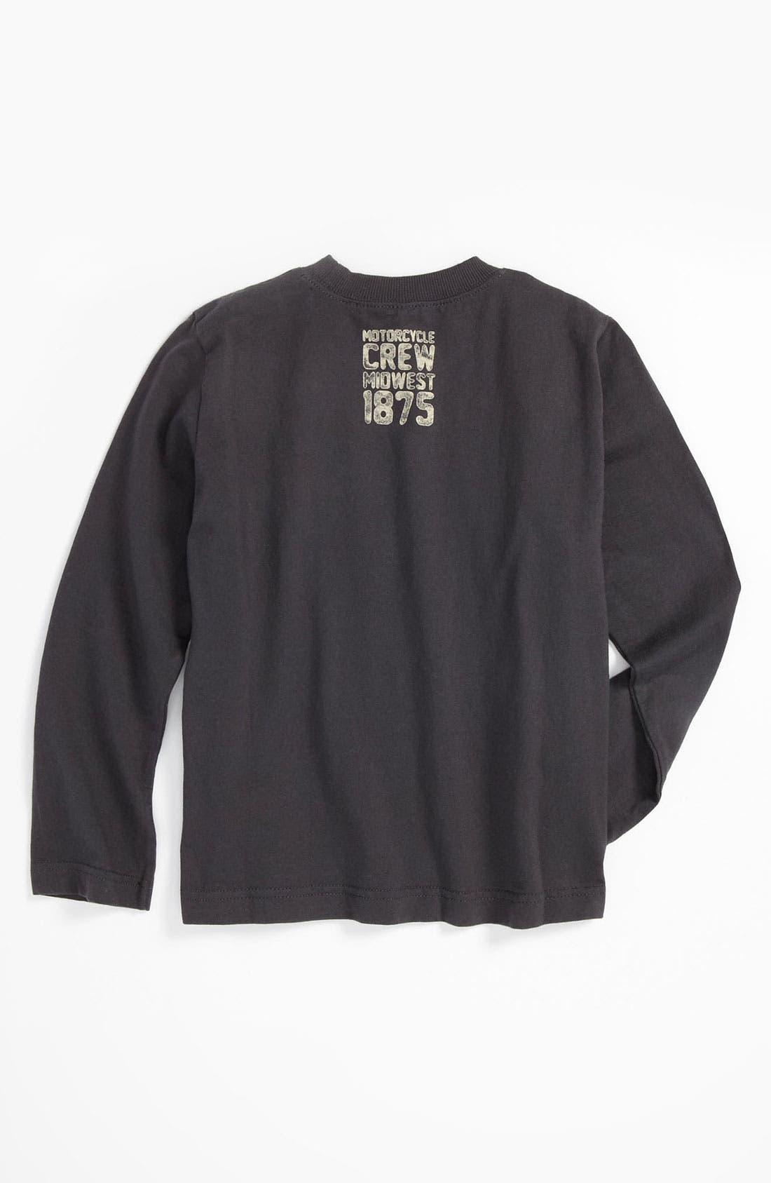 Alternate Image 2  - United Colors of Benetton Kids Long Sleeve T-Shirt (Little Boys & Big Boys)