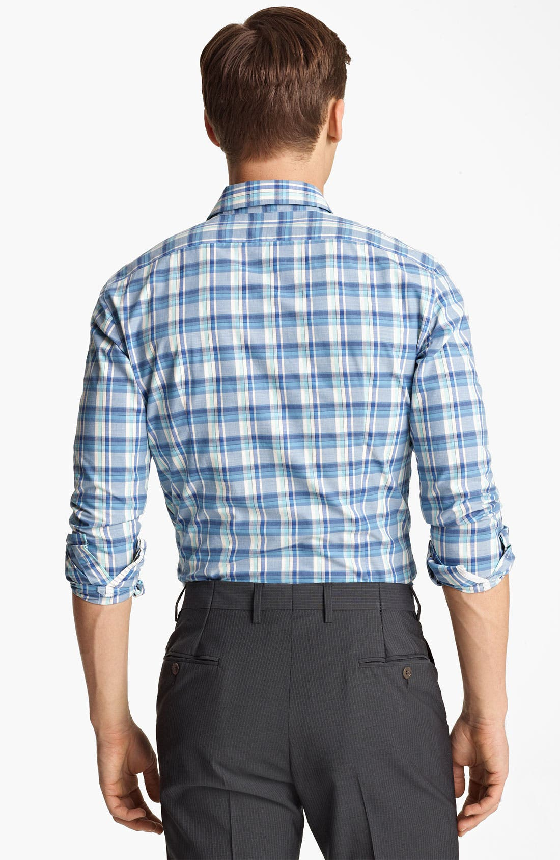 Alternate Image 2  - PS Paul Smith Slim Fit Plaid Woven Shirt