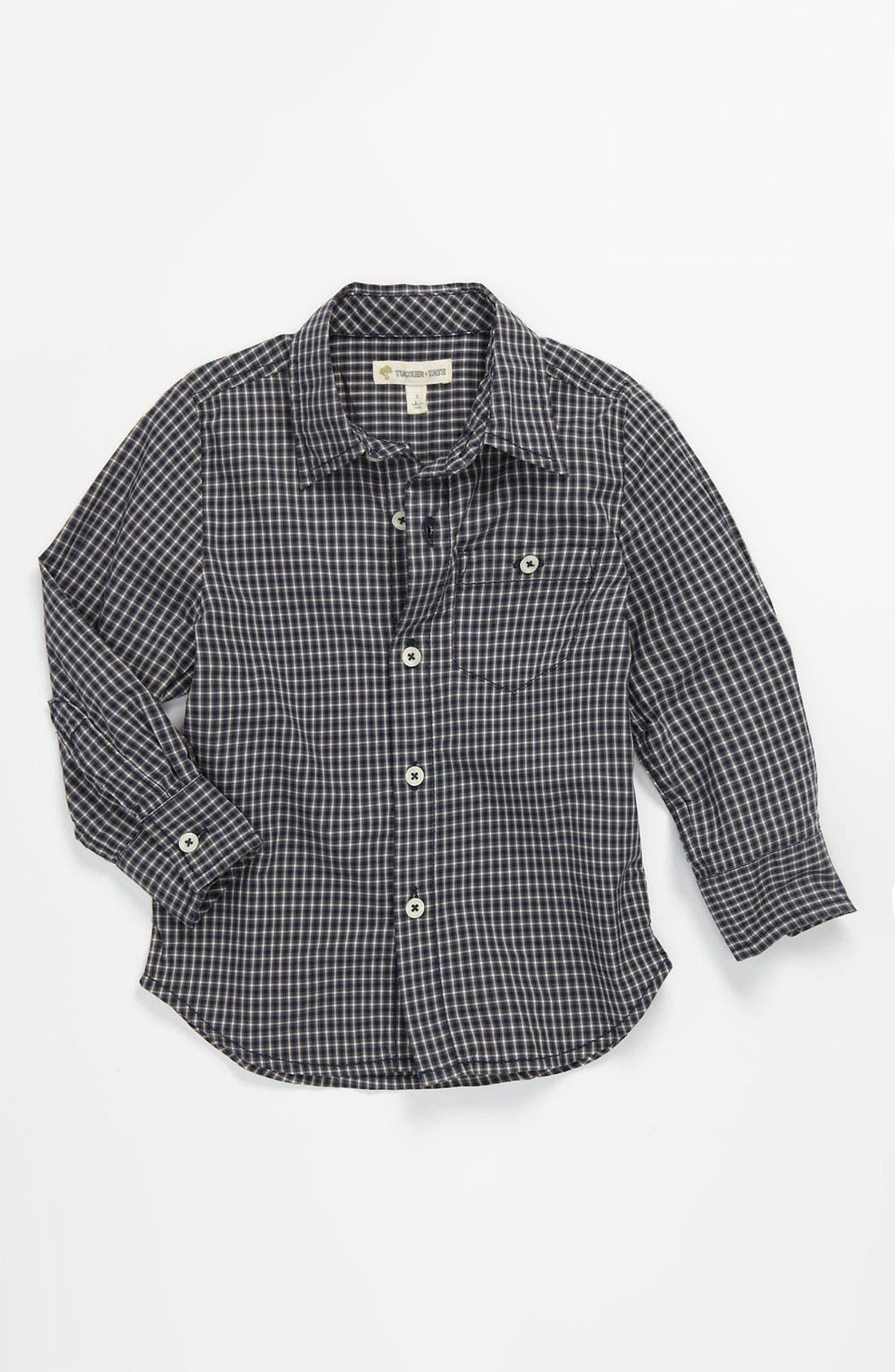 Alternate Image 1 Selected - Tucker + Tate 'Allister' Poplin Shirt (Toddler)