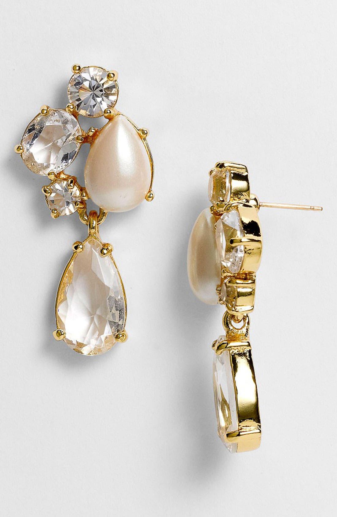 Main Image - kate spade new york 'fragment' drop earrings