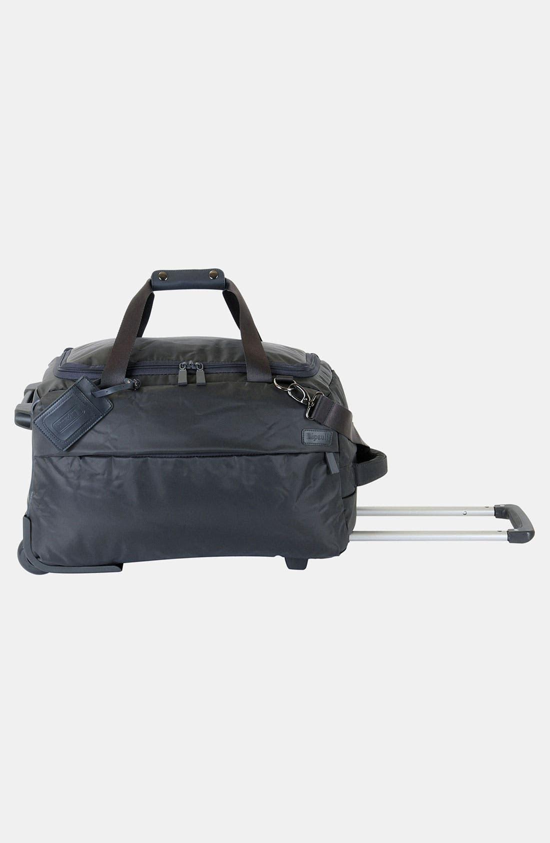 Alternate Image 6  - LIPAULT Paris Foldable Rolling Duffel Bag (20 Inch)