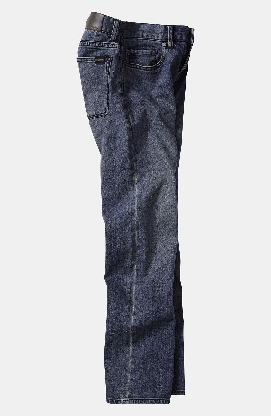 Alternate Image 3  - Quiksilver 'Zeppelin' Jeans (Big Boys)