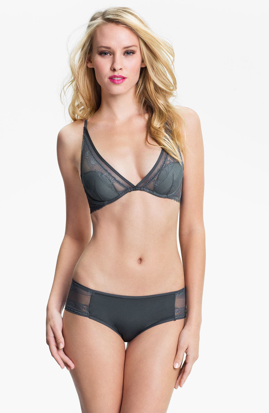 Alternate Image 3  - Calvin Klein 'Micro Lace' Hipster Briefs