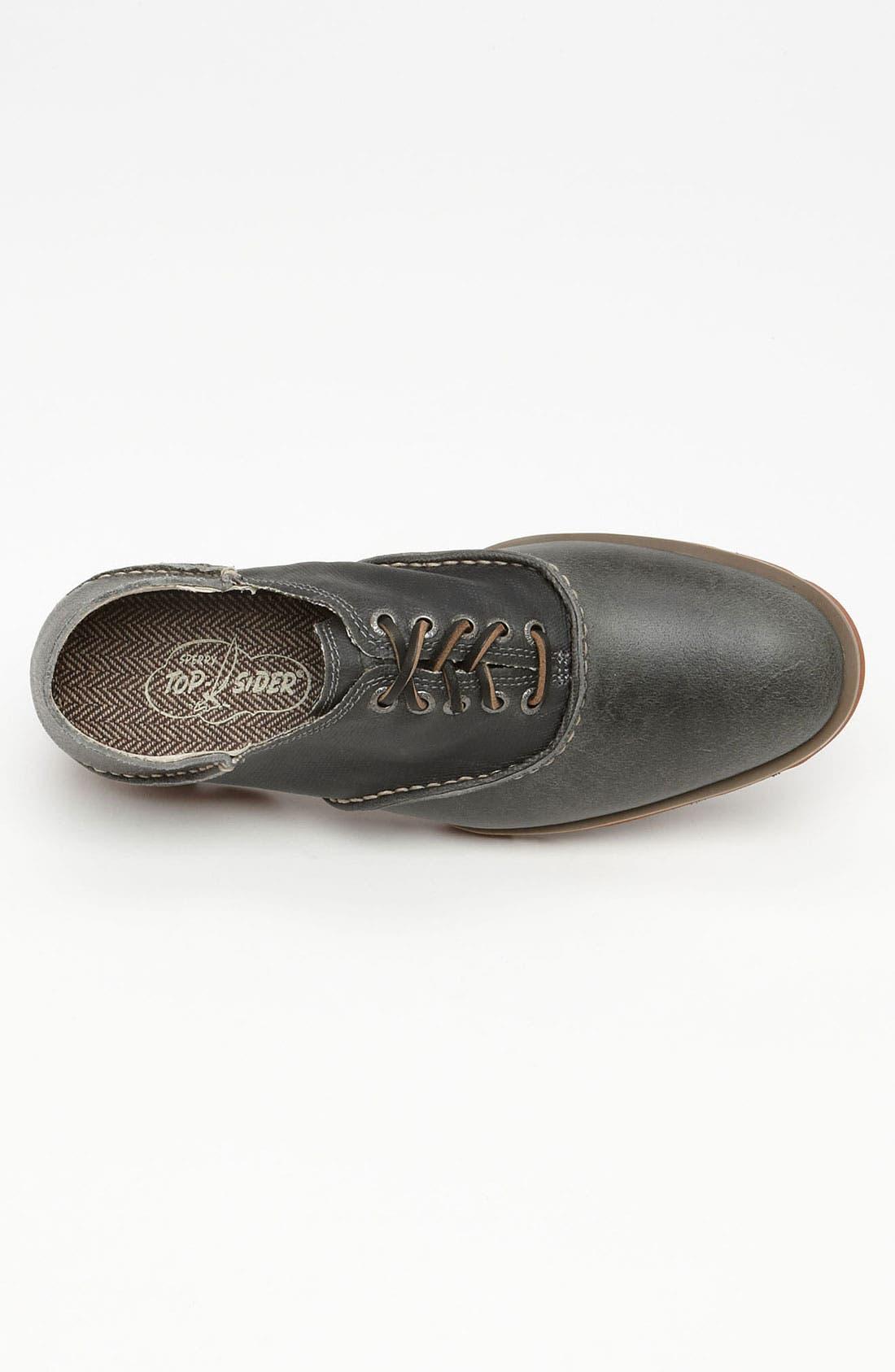 Alternate Image 3  - Sperry Top-Sider® Herringbone Saddle Shoe
