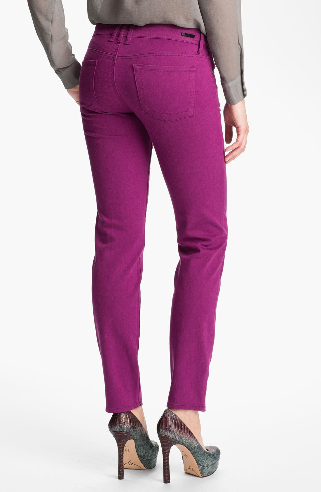 Alternate Image 2  - KUT from the Kloth 'Diana' Colored Skinny Jeans