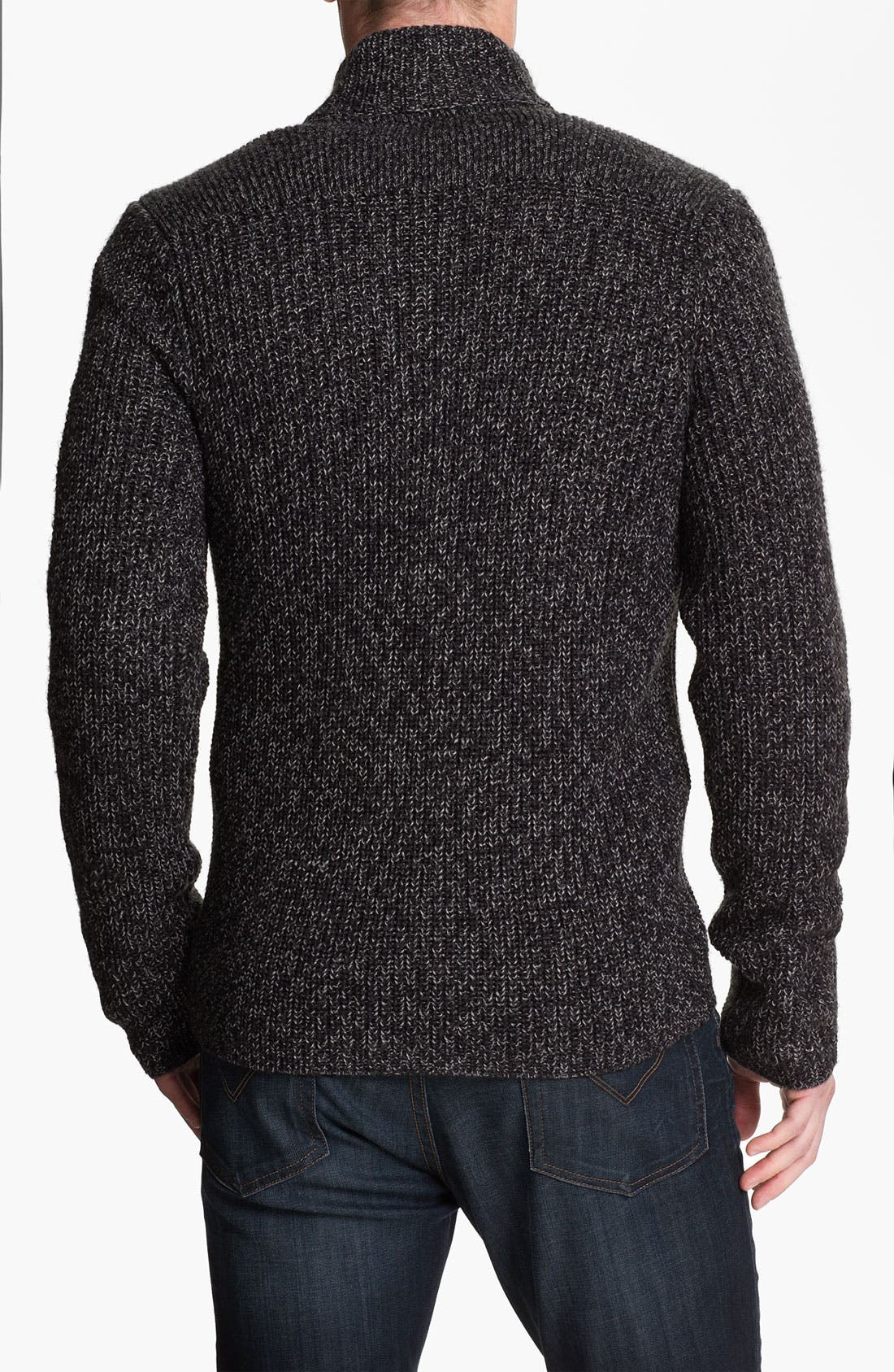 Alternate Image 2  - Calibrate 'Altman' Wool Blend Zip Cardigan