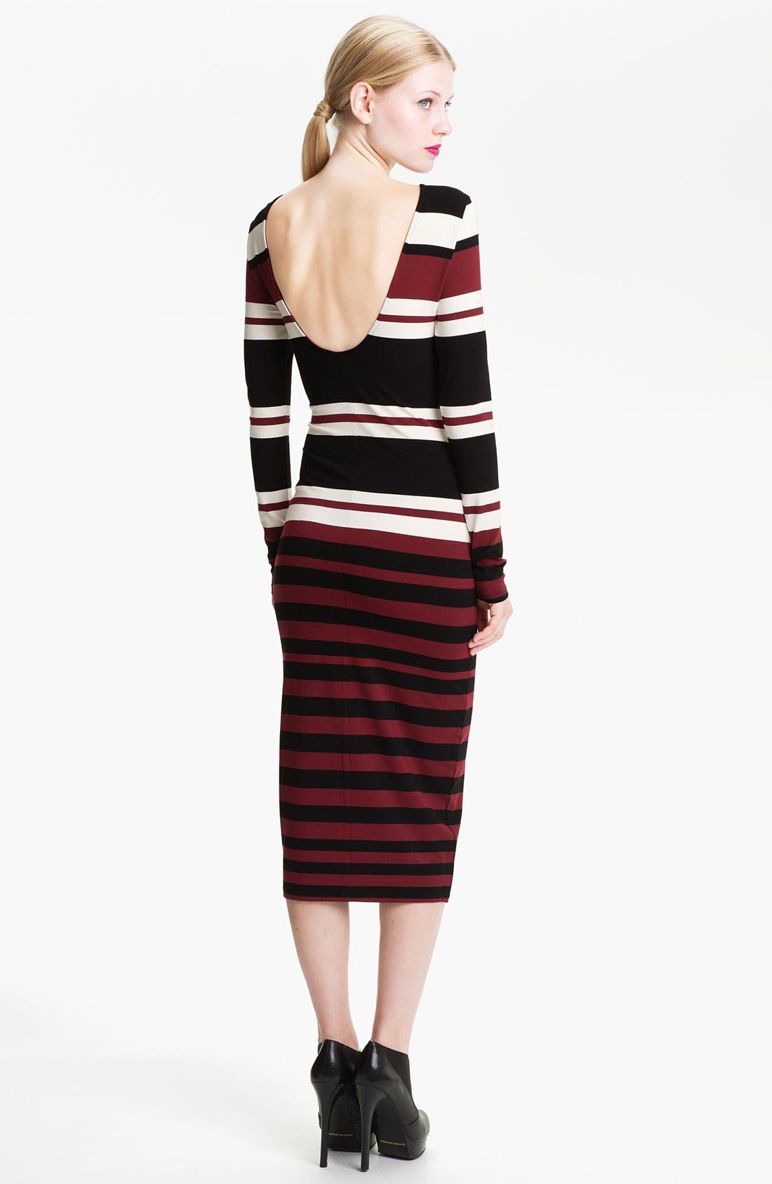 Alternate Image 2  - Felicity & Coco Stripe Jersey Midi Dress (Nordstrom Exclusive)
