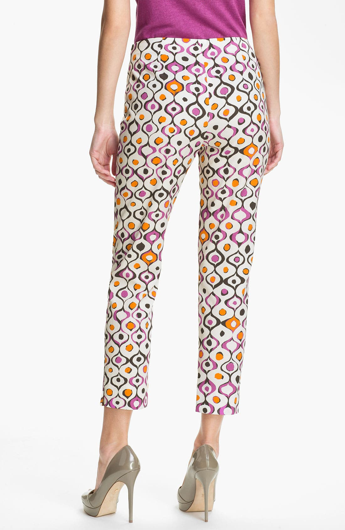 Alternate Image 2  - Lafayette 148 New York 'Stanton - Indie Print' Pants