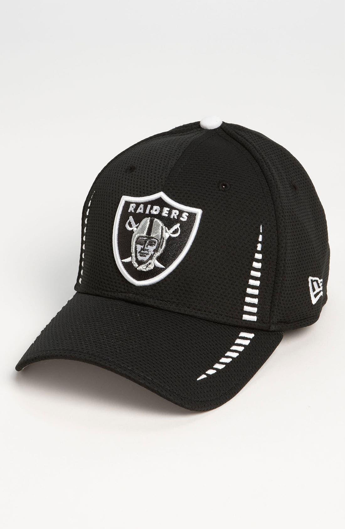 Main Image - New Era Cap 'Training Camp - Oakland Raiders' Baseball Cap