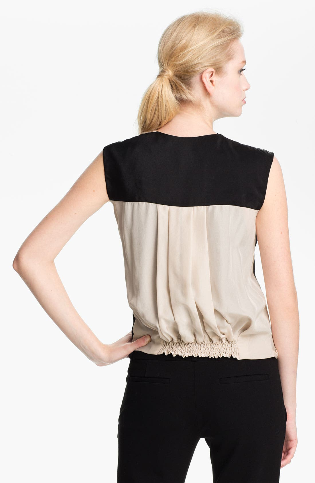 Alternate Image 2  - Diane von Furstenberg 'Talitha' Faux Wrap Top