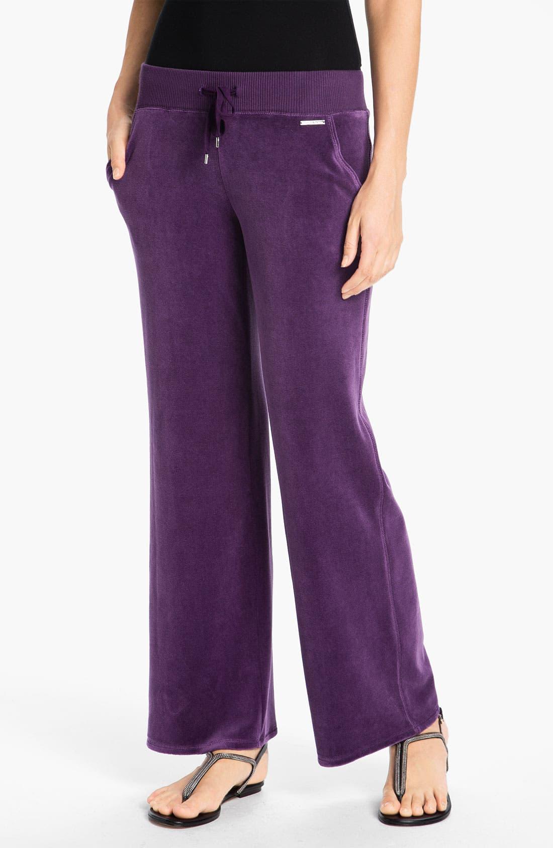 Main Image - MICHAEL Michael Kors Pull-On Velour Pants