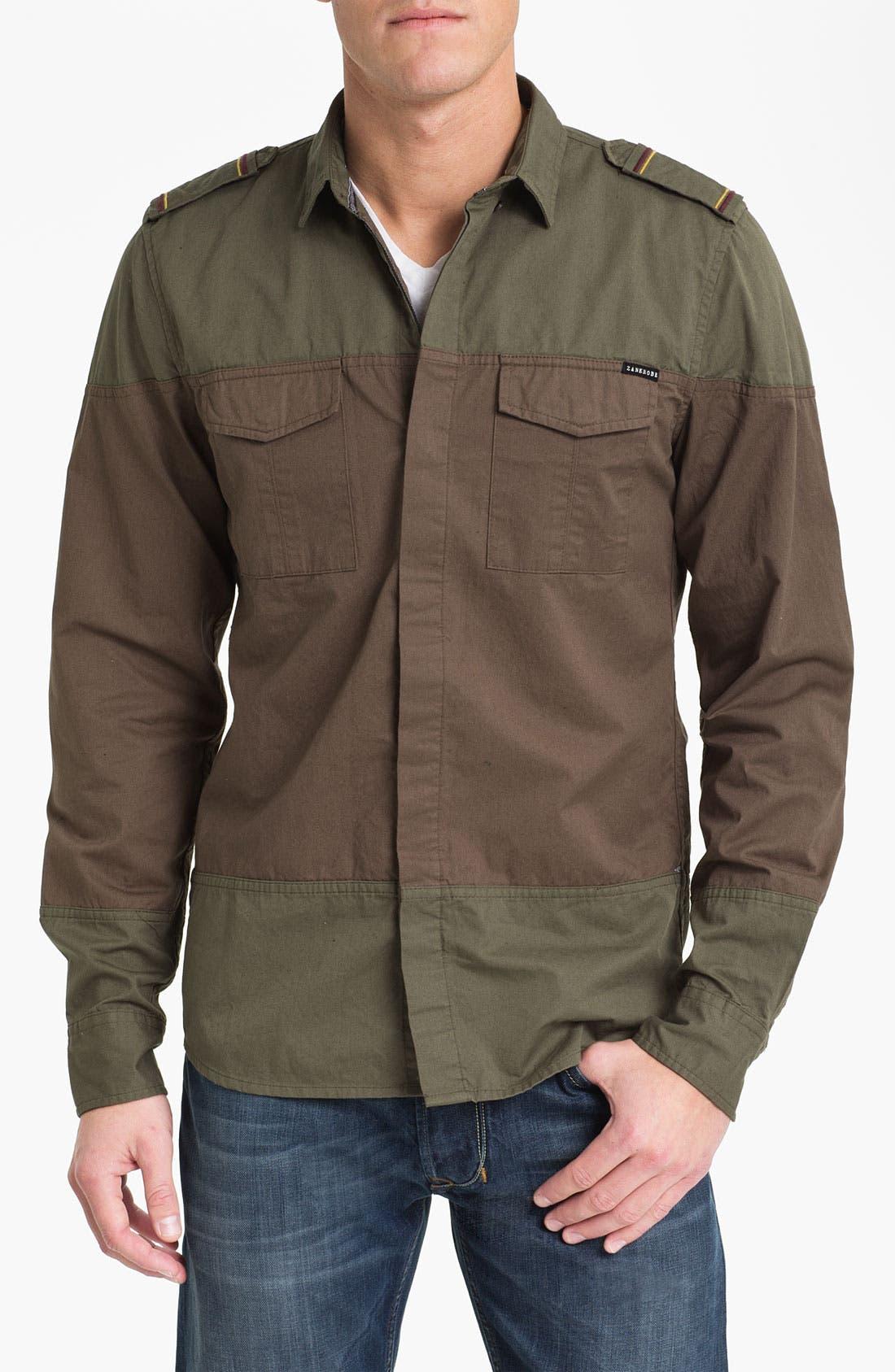 Alternate Image 1 Selected - Zanerobe 'Warfare' Woven Shirt