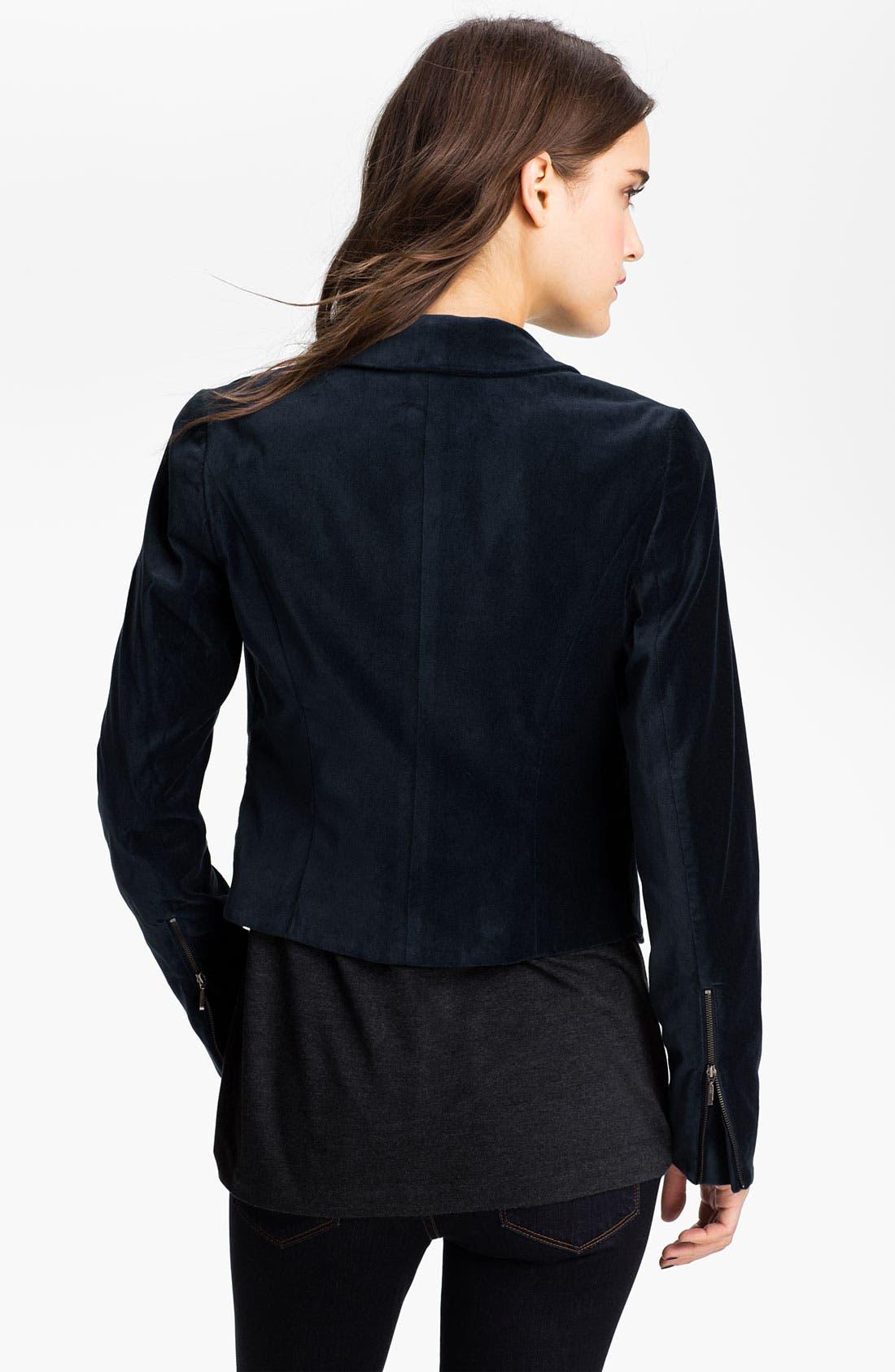Alternate Image 2  - Hinge® Velvet Blazer