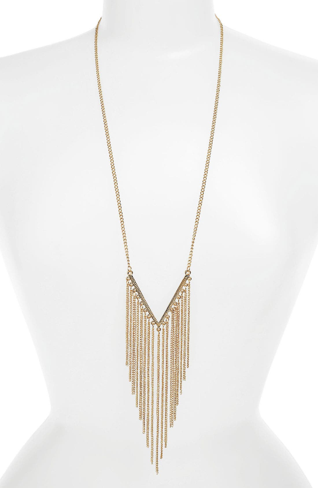 Alternate Image 1 Selected - Carole Chain Fringe Necklace
