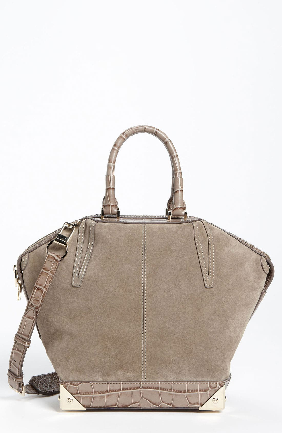 Main Image - Alexander Wang 'Emile - Small' Suede Tote