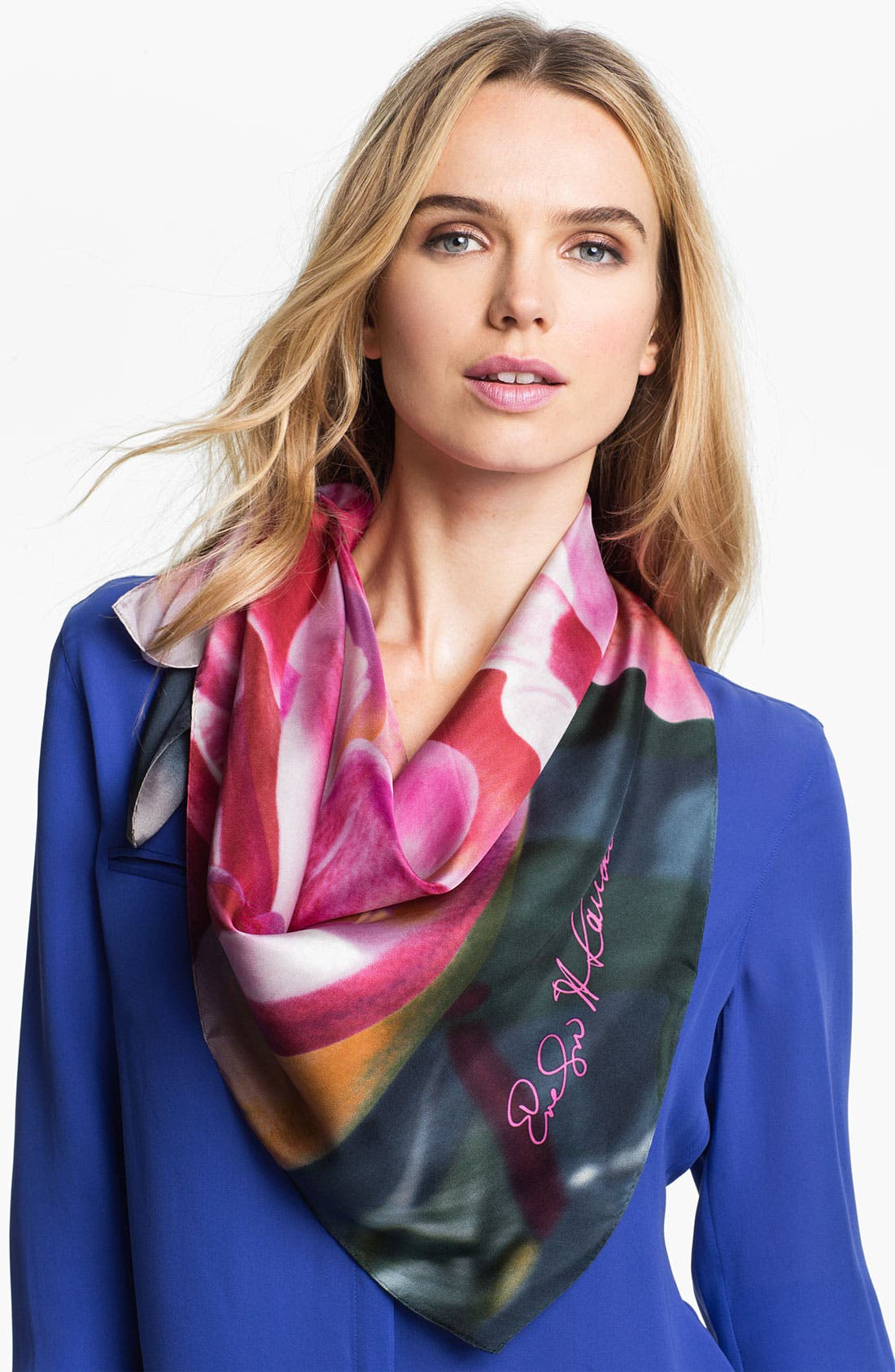 Main Image - Echo 'Poetry in the Light' Silk Scarf