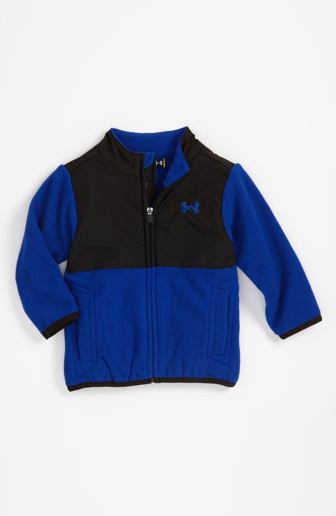 Alternate Image 1 Selected - Under Armour Fleece Jacket (Toddler)
