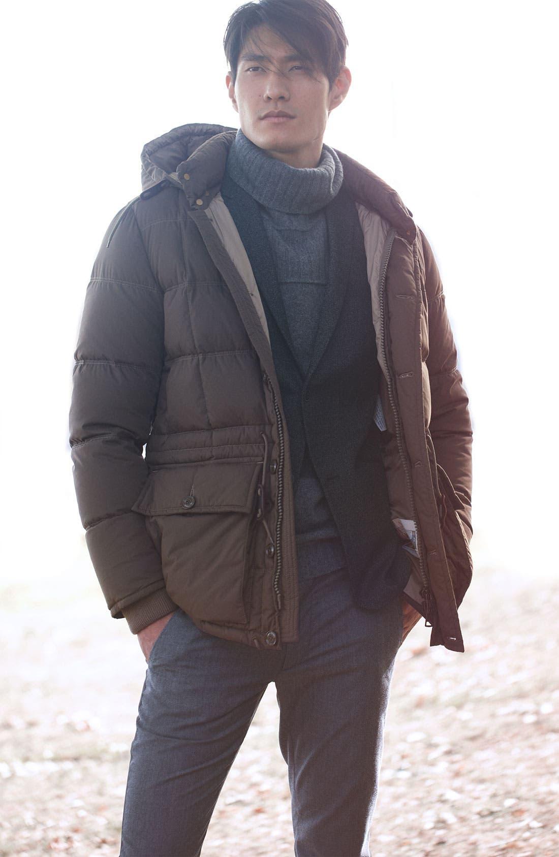 Alternate Image 4  - Theory 'Rodolf Wolcott' Wool Blend Tweed Blazer