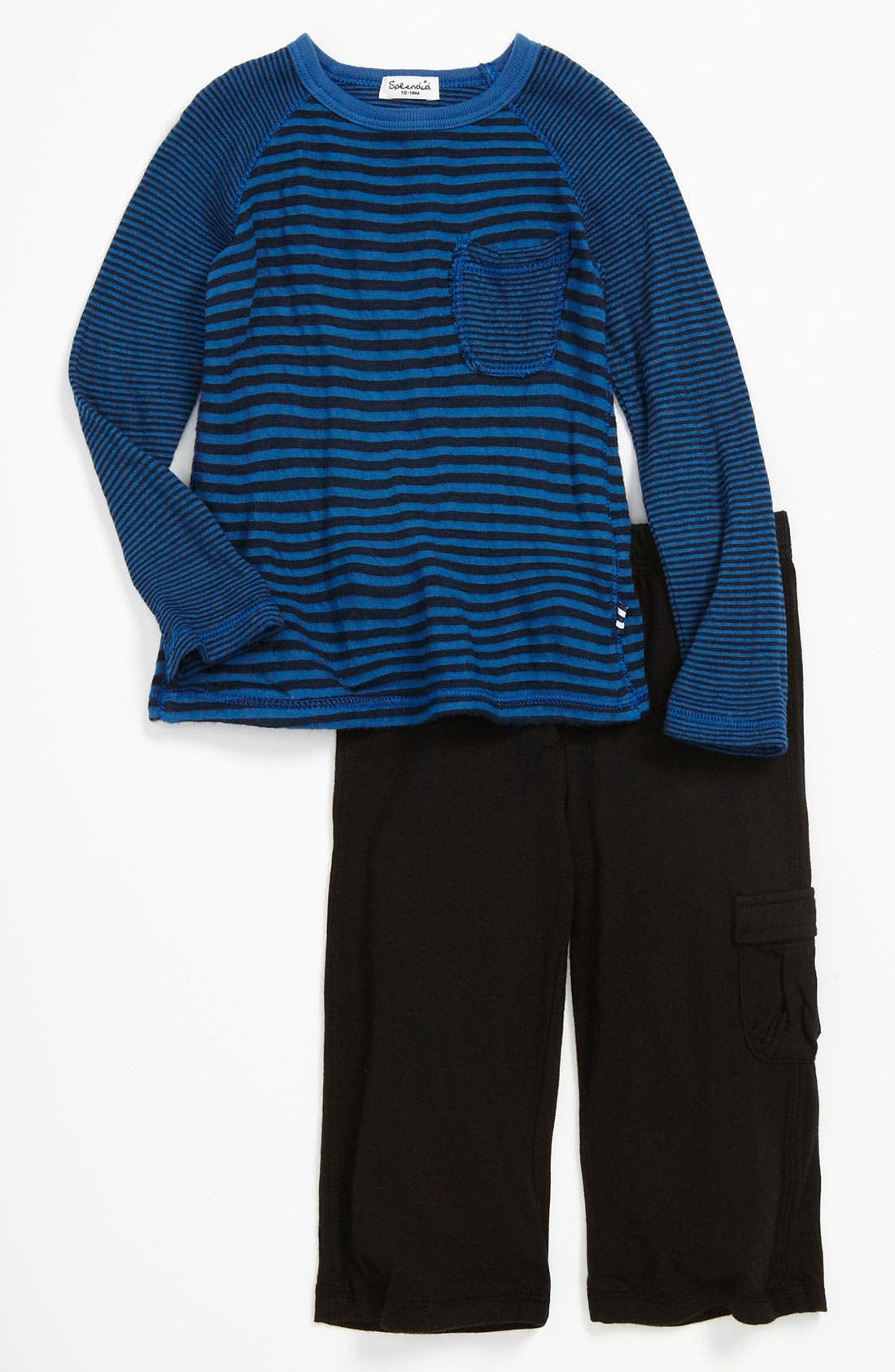 Main Image - Splendid Stripe Top & Pants (Infant)