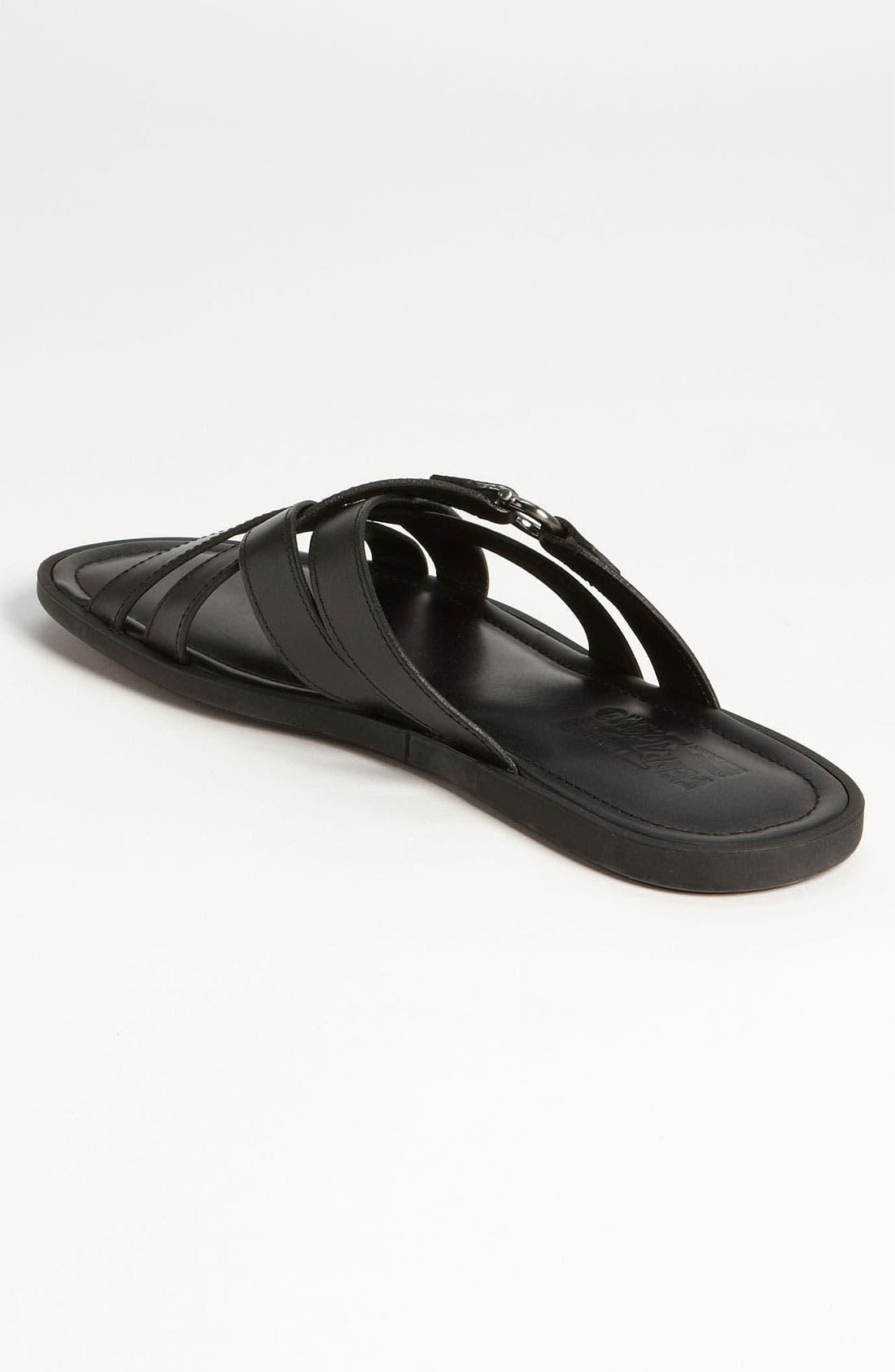 Alternate Image 2  - Salvatore Ferragamo 'Tirreno' Cross Strap Sandal