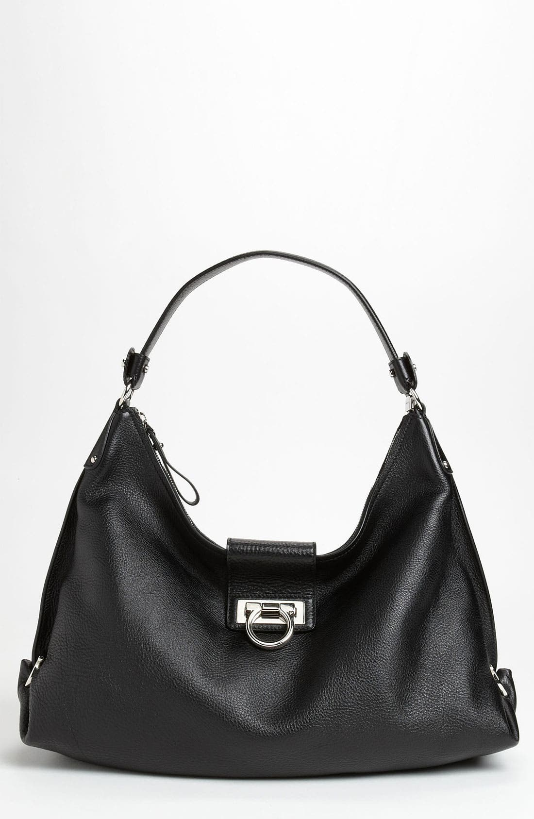 Alternate Image 1 Selected - Salvatore Ferragamo 'New Fanisa' Leather Hobo
