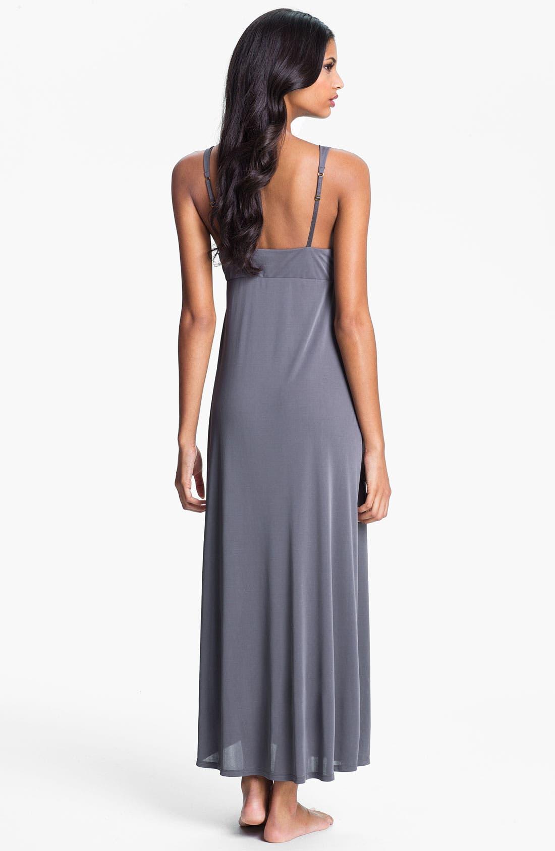 Alternate Image 2  - Natori Deep Plunge Gown