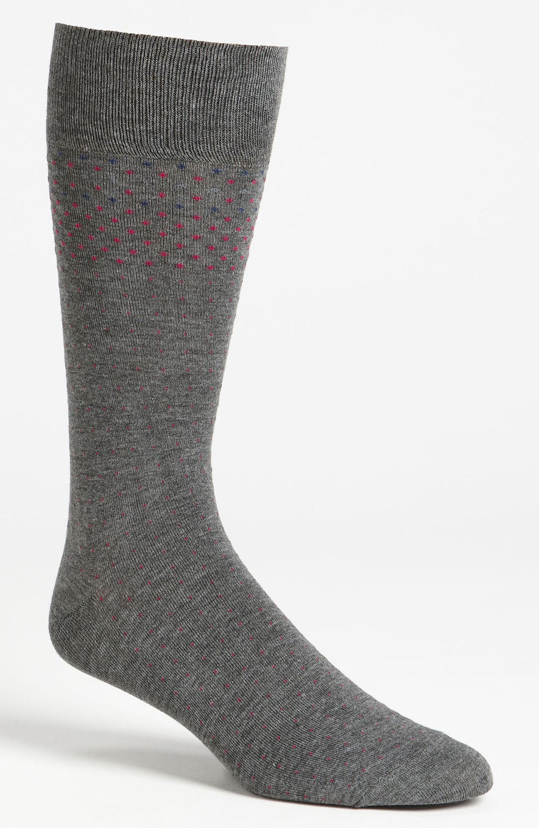 Main Image - Vince Camuto 'Graduated Pin Dot' Socks