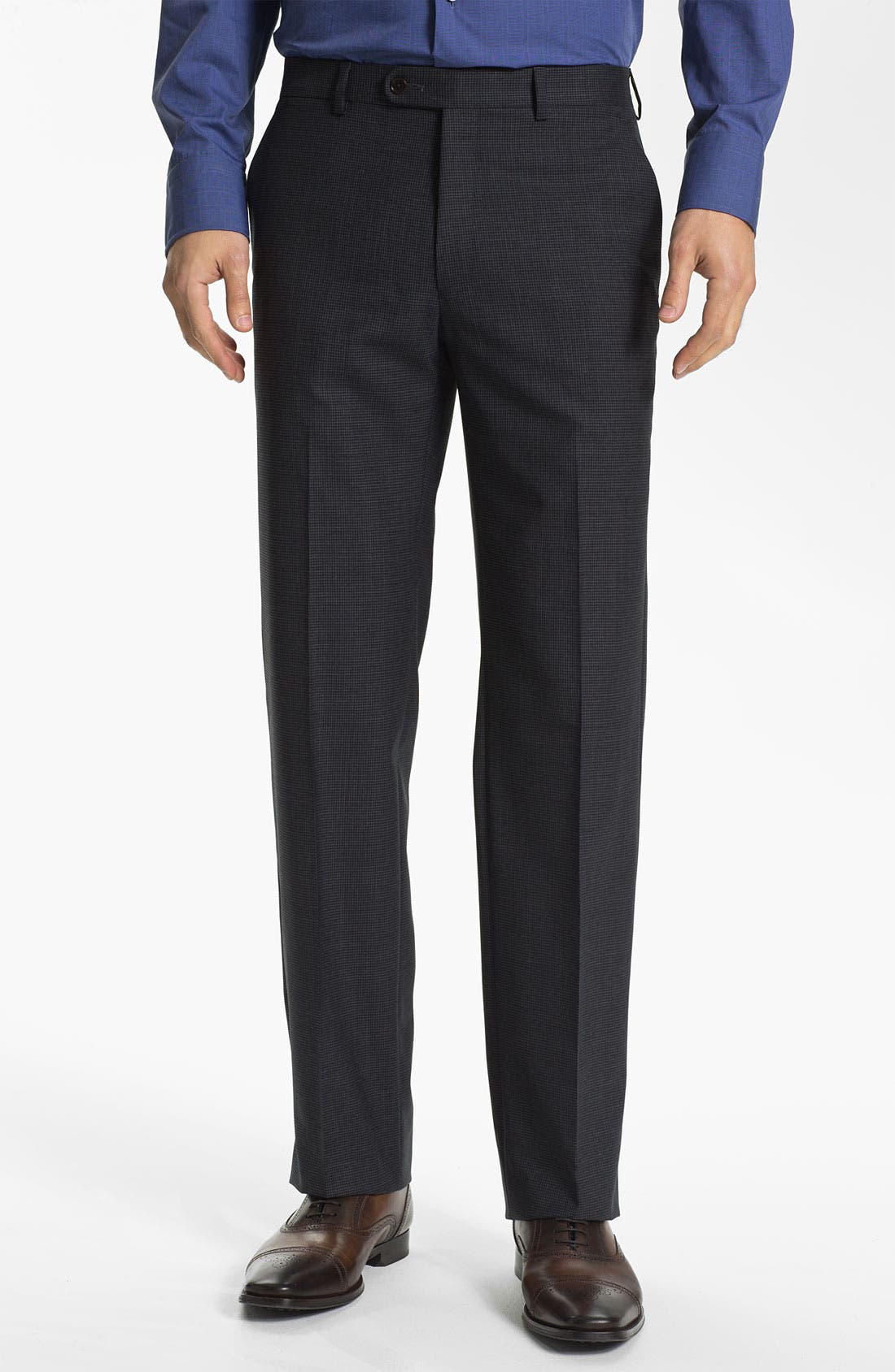 Alternate Image 1 Selected - John Varvatos Star USA 'Thompson' Houndstooth Trousers