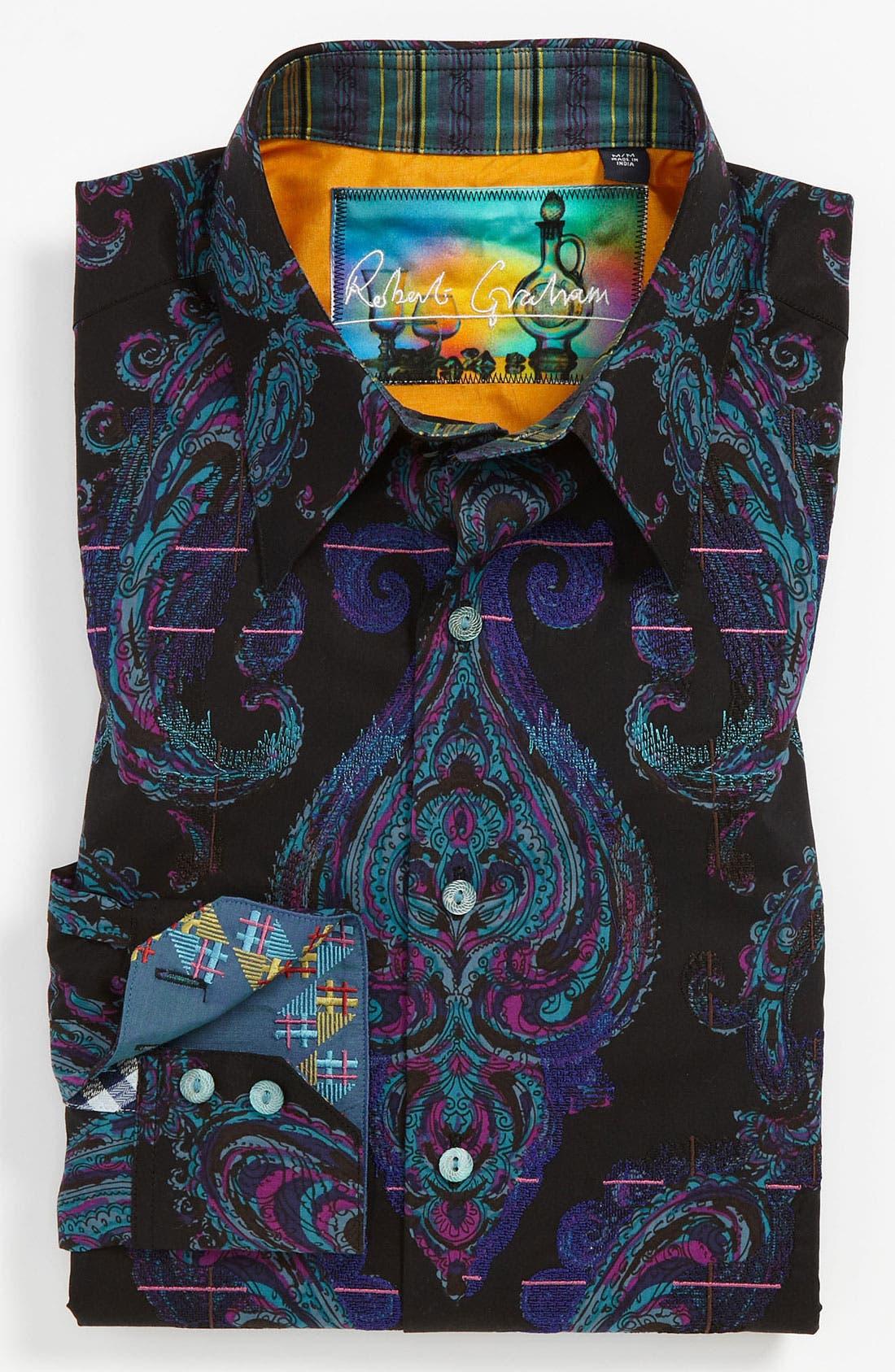 Alternate Image 2  - Robert Graham 'Royal' Sport Shirt
