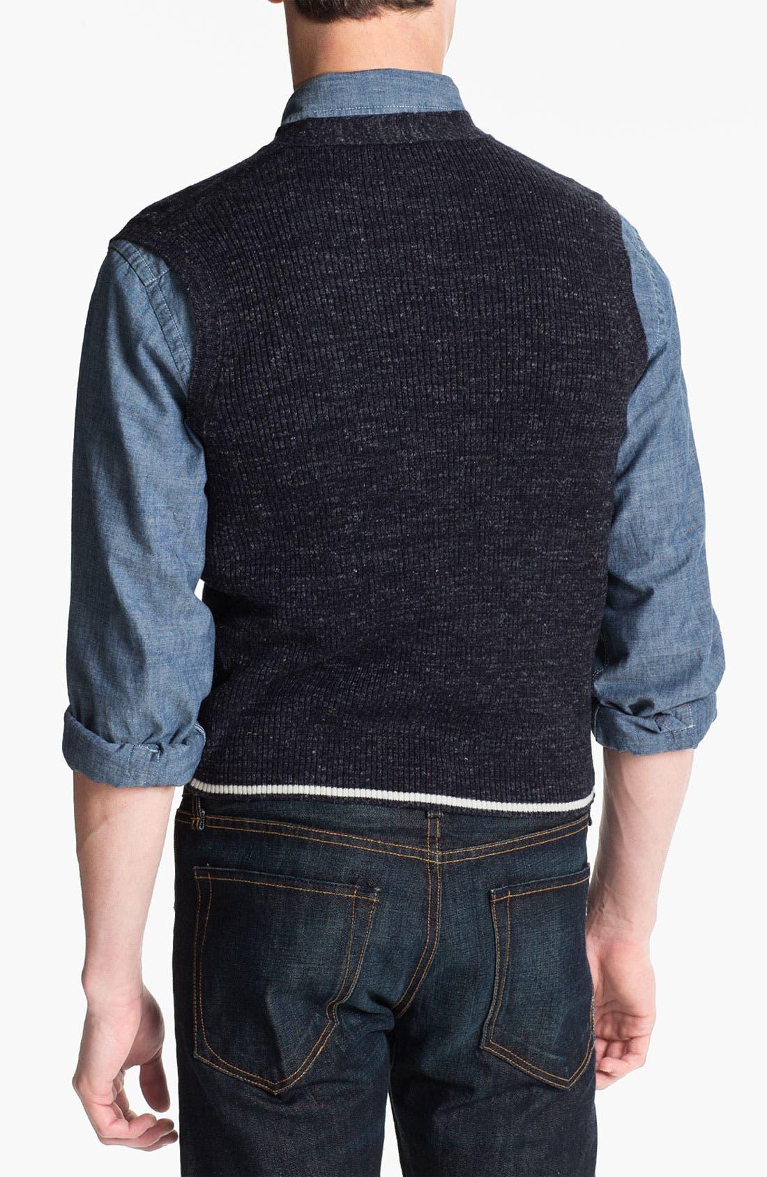 Alternate Image 2  - Orlandini 'Nis' Merino Wool Blend Sweater Vest