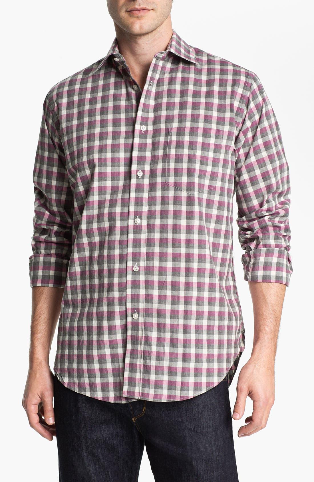 Main Image - Khaki Surplus Trim Fit Sport Shirt