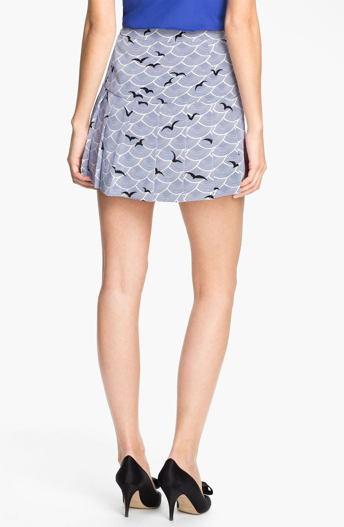 Alternate Image 2  - kate spade new york 'gavin' print skirt