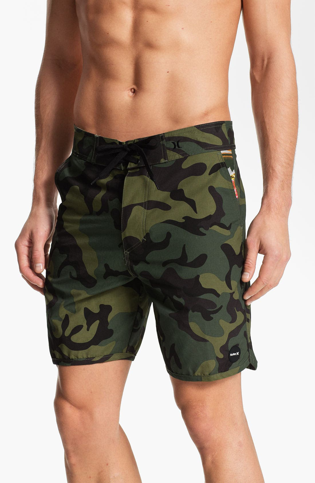 Alternate Image 1 Selected - Hurley 'Cool by the Pool' Hybrid Board Shorts