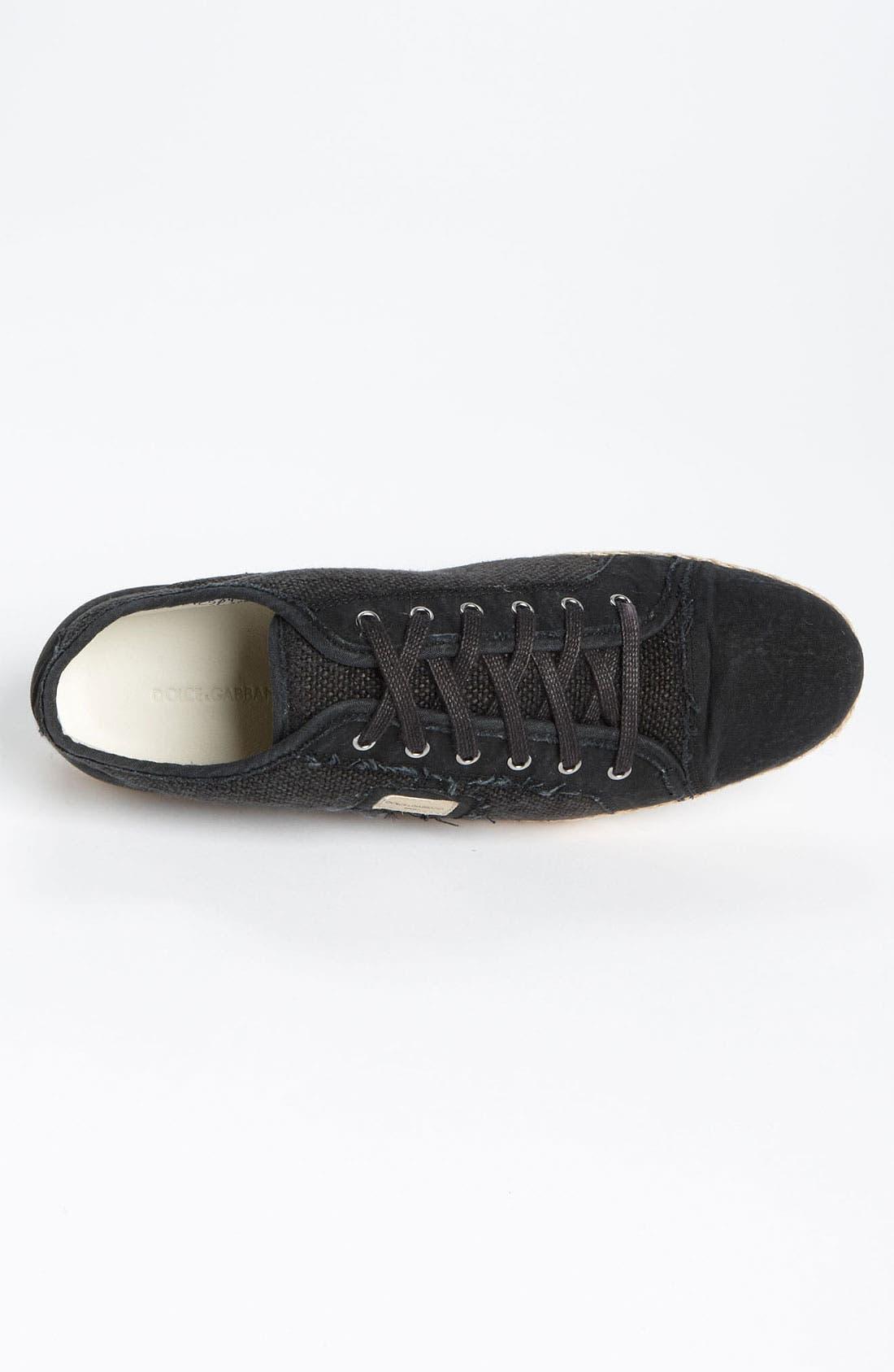 Alternate Image 3  - Dolce&Gabbana Espadrille Sneaker