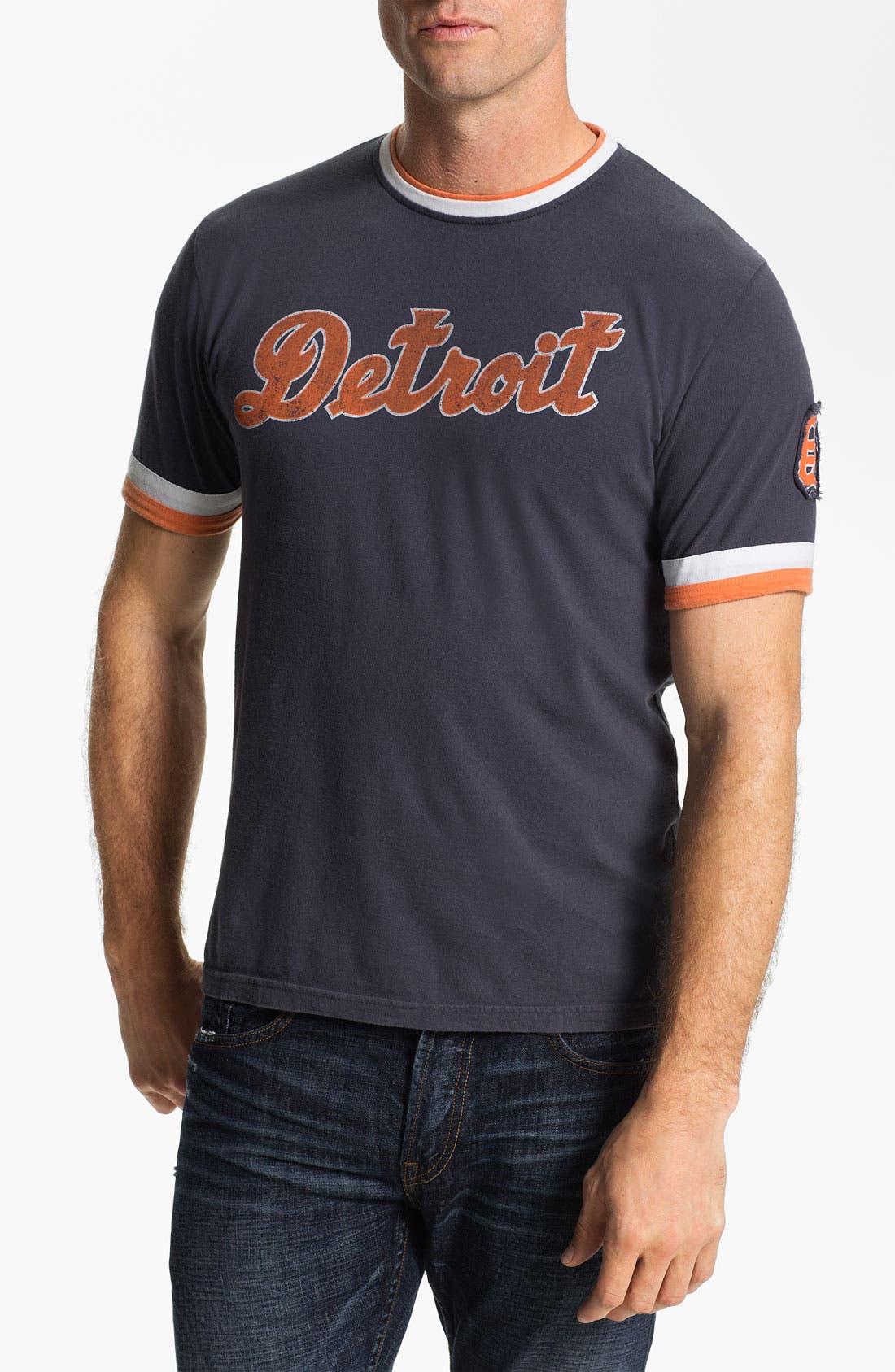 Alternate Image 1 Selected - Red Jacket 'Detroit Tigers' Trim Fit Ringer T-Shirt (Men)