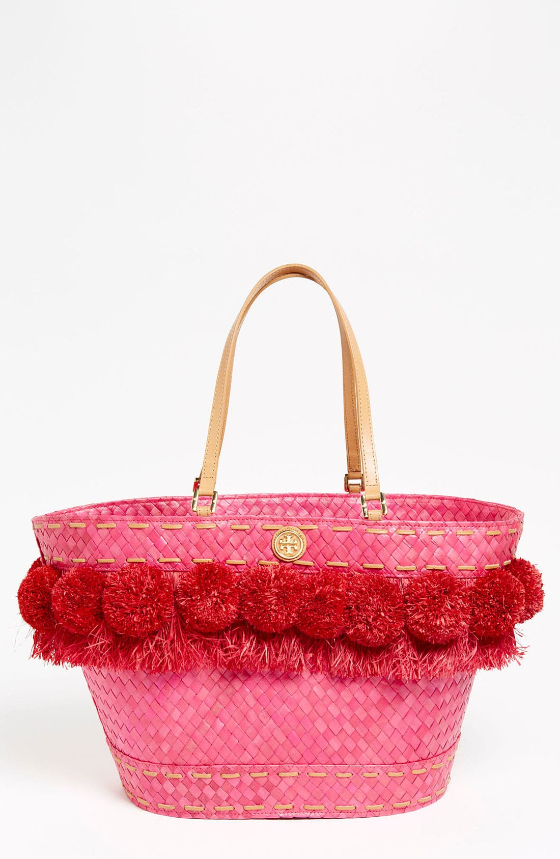 Alternate Image 1 Selected - Tory Burch 'Norah - Beachy' Bucket Tote