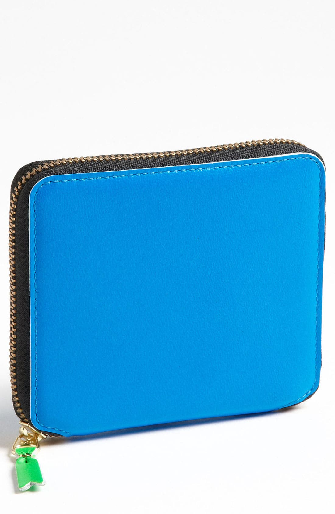 Alternate Image 1 Selected - Comme des Garçons 'Super Fluo' Zip Around Wallet
