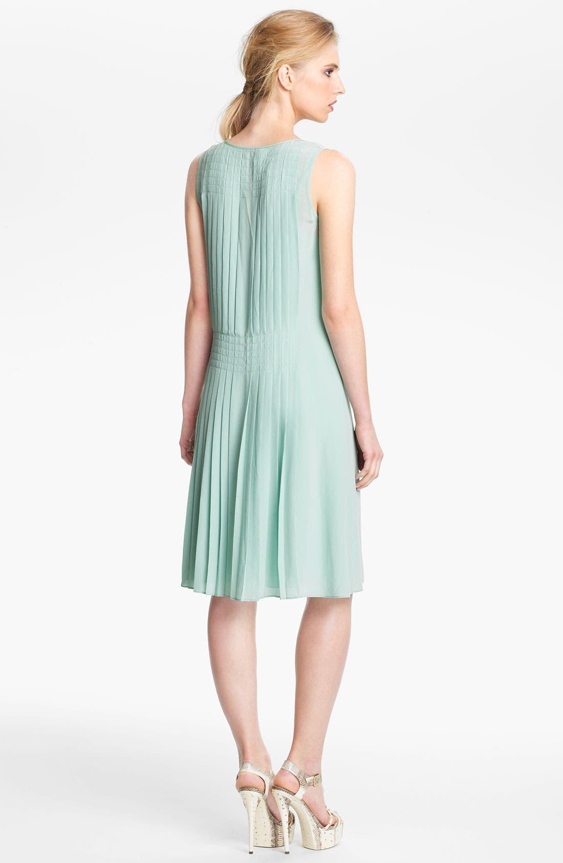 Alternate Image 2  - Rachel Zoe 'Karlie' Pleated Shift Dress