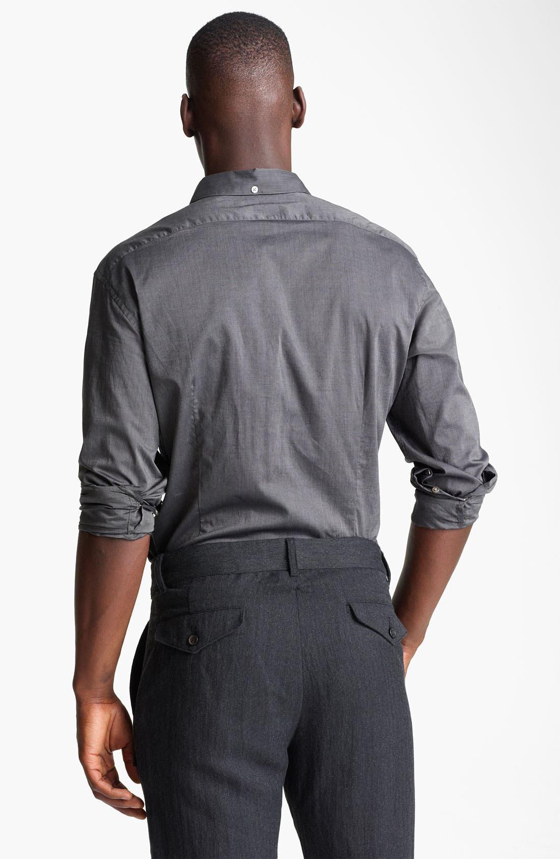 Alternate Image 2  - John Varvatos Collection Slim Fit Stripe Shirt