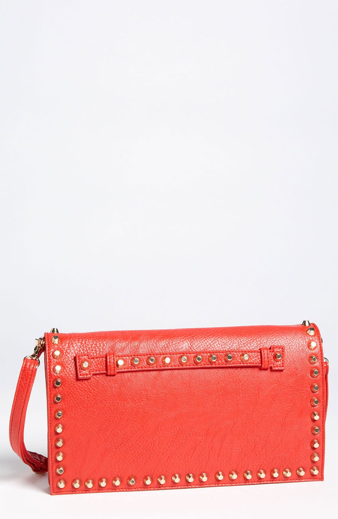 Main Image - Street Level Studded Convertible Clutch