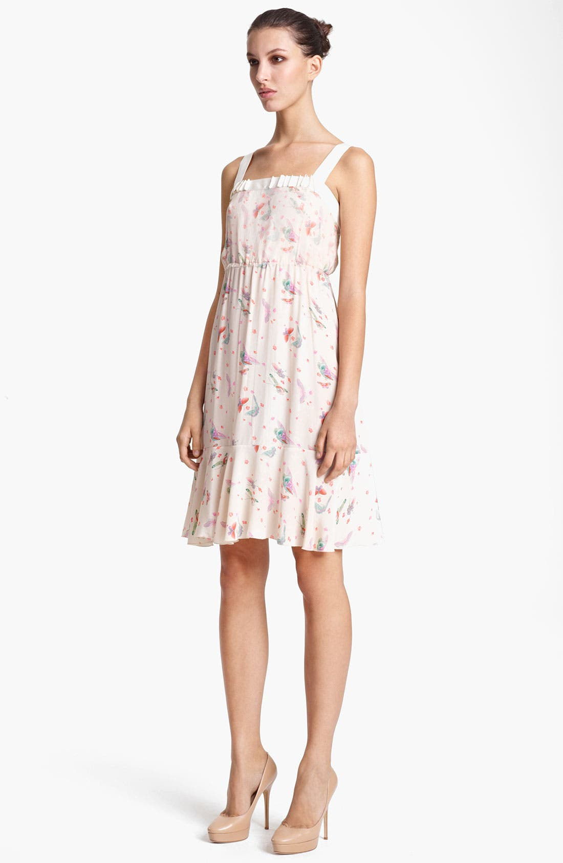Alternate Image 1 Selected - Nina Ricci Print Tank Dress
