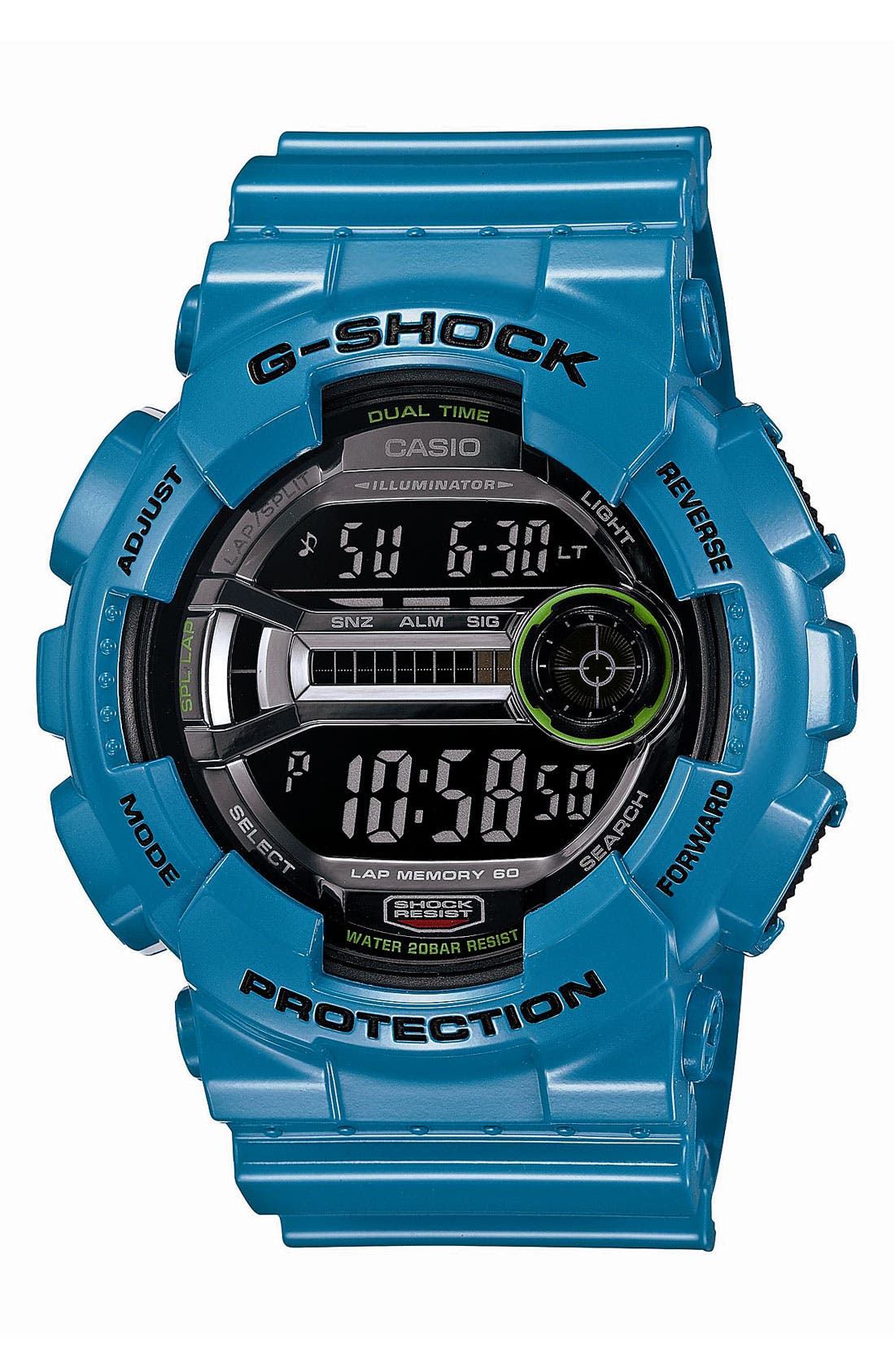 Main Image - G-Shock 'X-Large' Digital Watch, 55mm x 51mm