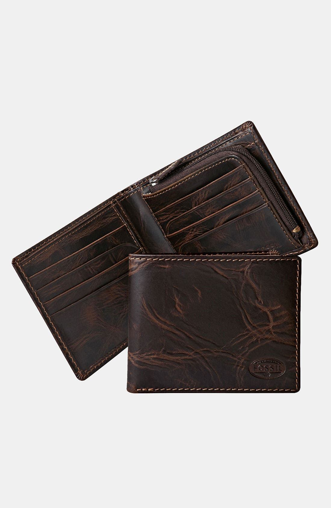 Alternate Image 1 Selected - Fossil 'Norton' Bifold Wallet