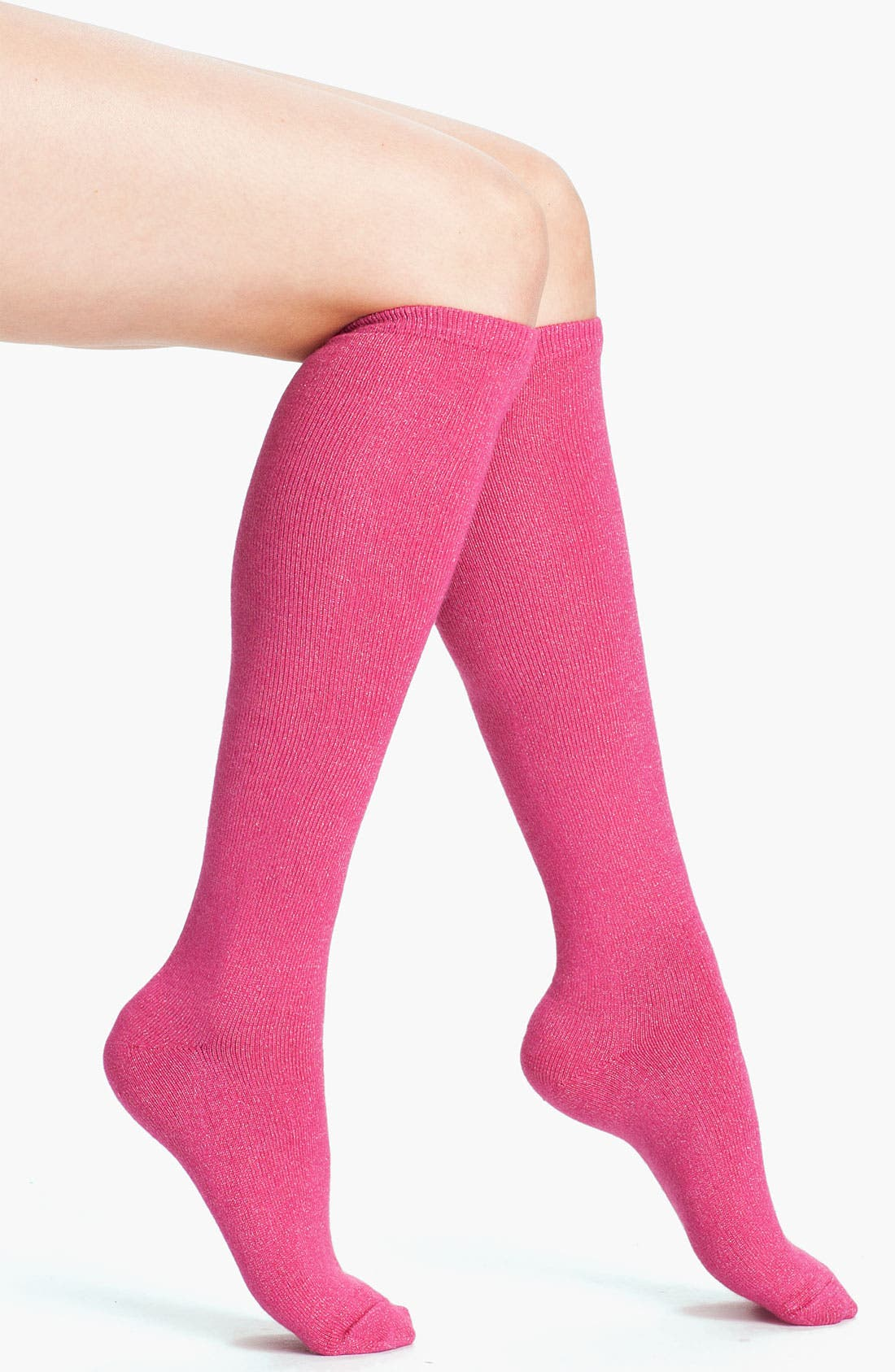 Alternate Image 1 Selected - kate spade new york 'holiday sparkle' knee high socks