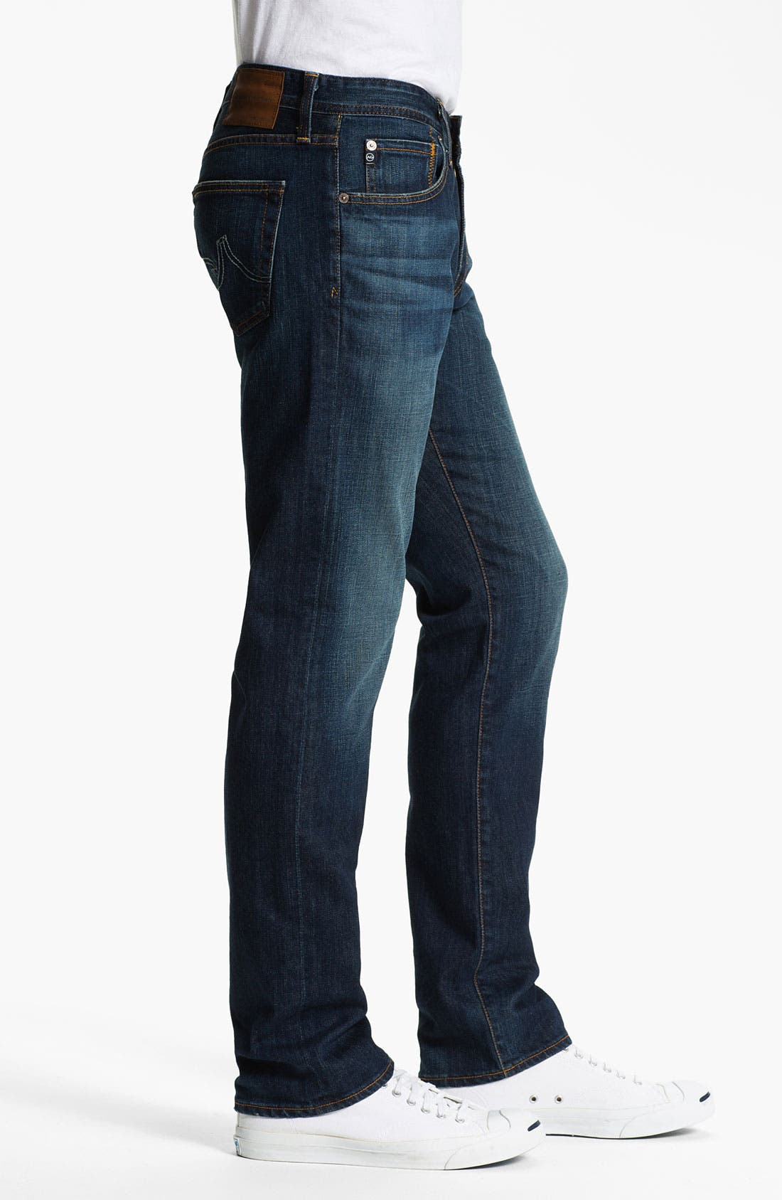 Alternate Image 3  - AG Jeans 'Matchbox' Slim Straight Leg Jeans (District)