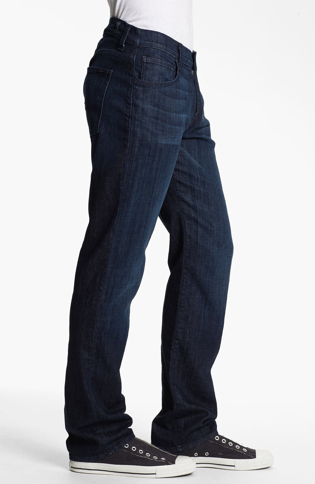 Alternate Image 3  - 7 For All Mankind® 'Carsen' Easy Straight Leg Jeans (Rose Avenue)