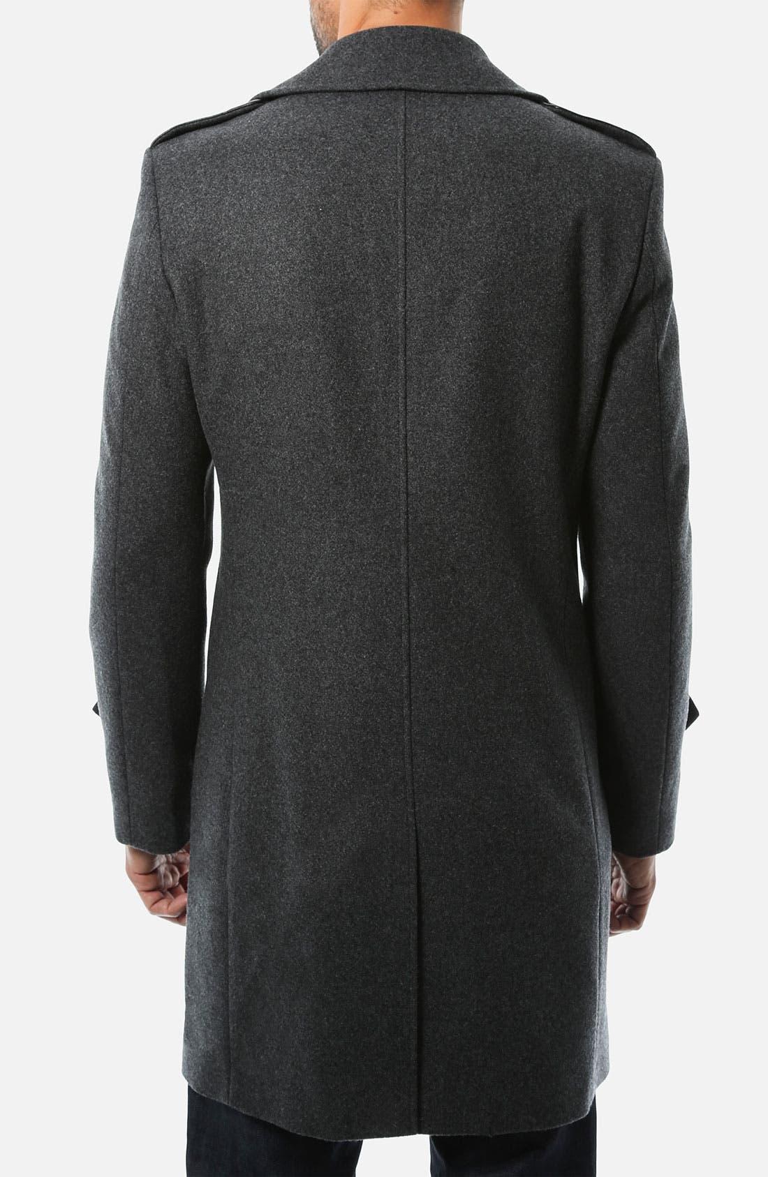 Alternate Image 2  - 7 Diamonds 'Arezzo' Wool Coat