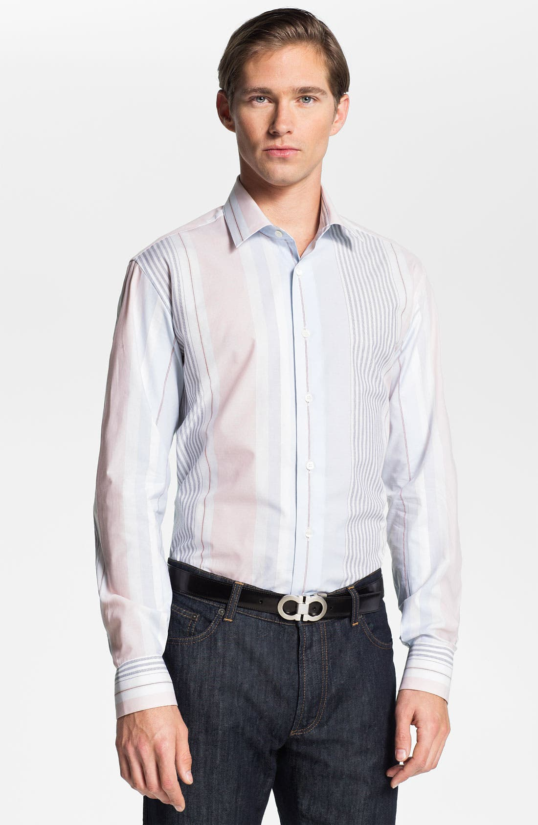 Alternate Image 1 Selected - Salvatore Ferragamo Sport Shirt